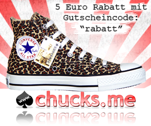 5 Euro Rabatt bei www.CHUCKS.me