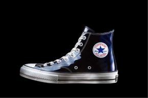 Converse Patent Leather Blau
