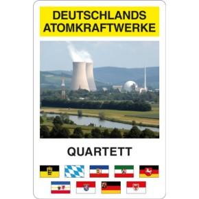 Das erste Quartett-Spiel mit Deutschlands Atomkraftwerken