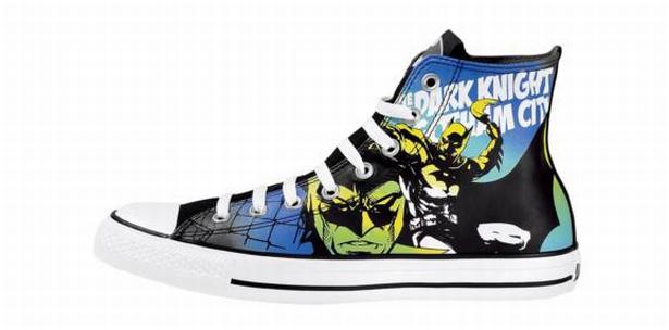 BAT MAN Dark Knight returns - Converse Comic Chucks NEU RaRE – Collectors item
