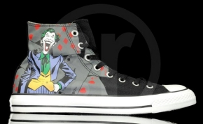 Converse Chucks All Star DC Comics cartoon hero series the Joker