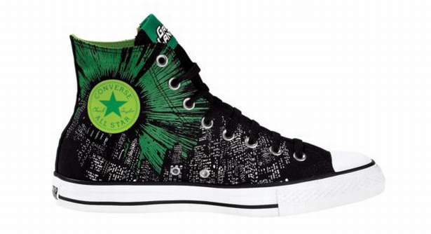 Green Lantern - Grüne Laterne Converse Comic Chucks NEU RaRE - Collectors item
