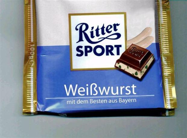 Rittersport Weisswurst