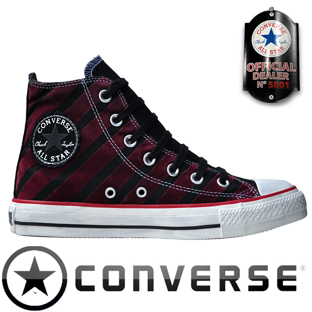 converse chuck taylor all star chucks 113915 rot schwarz. Black Bedroom Furniture Sets. Home Design Ideas
