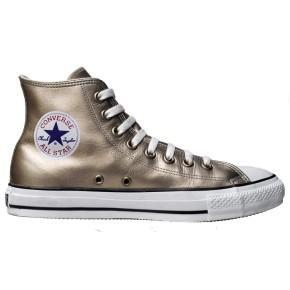 Converse Chuck Taylor All Star Chucks 1V197 Hi Gold Leder HI