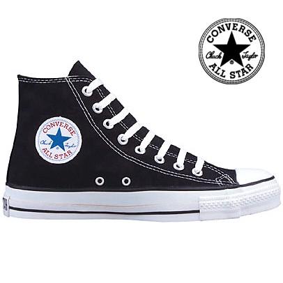 Converse All Star Chucks M9160 - Das Schwarze ORIGINAL !!! Black Allstar Sneakers HI