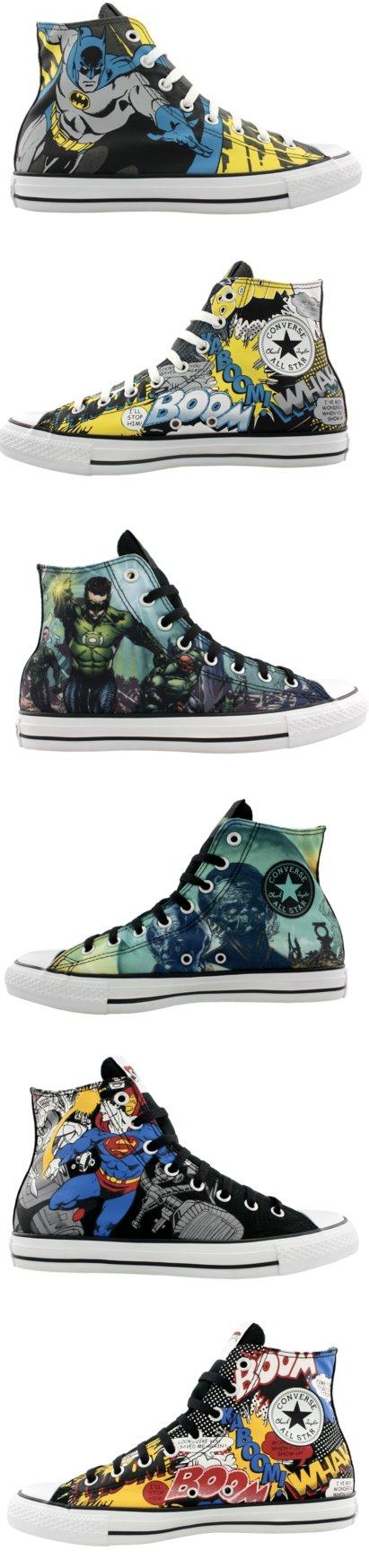 Converse Superhero Chuck Taylors Superman / Supermann Chucks