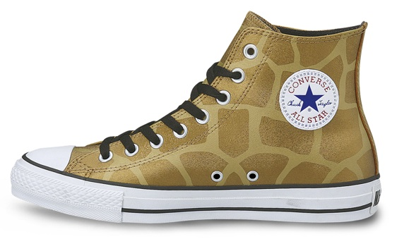 Converse All Star Chuck Taylor Giraffe, die Animal metallic Print von Converse Japan