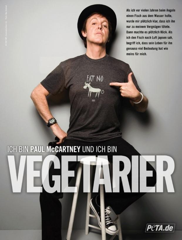 Paul McCartney in Chucks