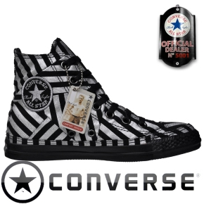 Converse Chuck Taylor All Star Chucks 100118 Silber Schwarz