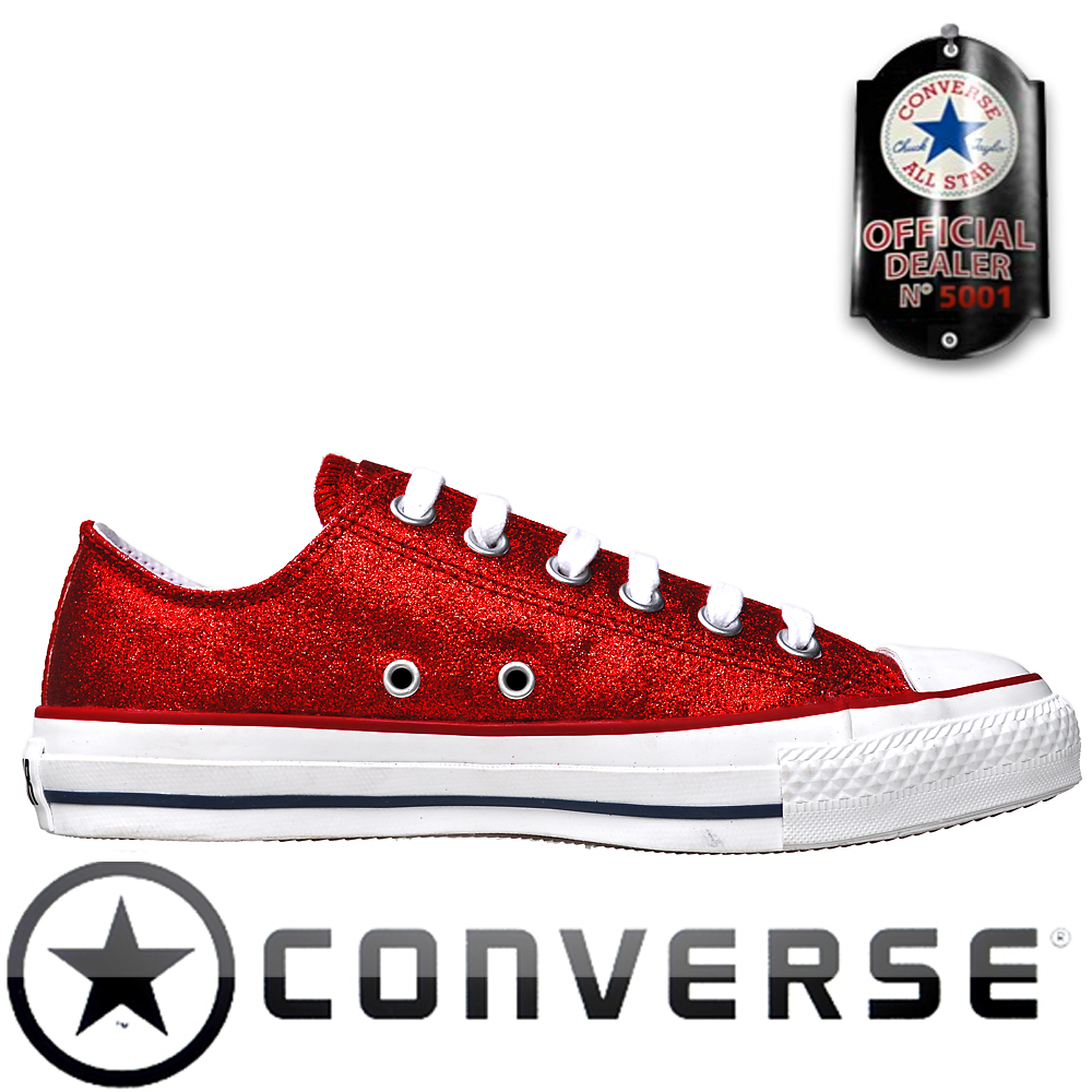 converse chuck taylor all star chucks ox 109743 rot. Black Bedroom Furniture Sets. Home Design Ideas