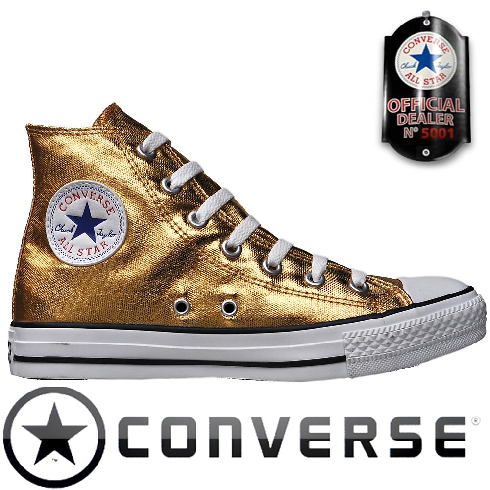 Converse Chuck Taylor All Star #Chucks 118515 Hi Gold HI