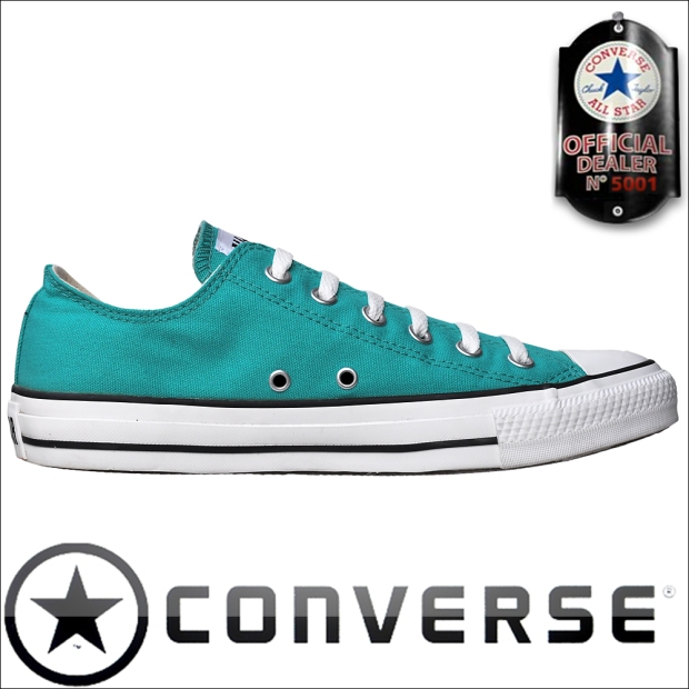 #Converse Chuck Taylor All Star Chucks OX 121995 türkis Waterfall Low
