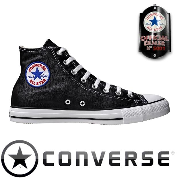 Converse All Star Chuck Taylor Chucks 1S581 Leder Schwarz iROBOT