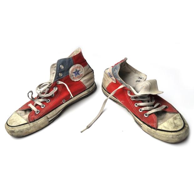 Converse Shoes Chuck Taylor All Star Chucks - Blau Weiß Rot HI Vintage