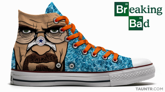 Breaking Bad Converse All Star Chucks Edition