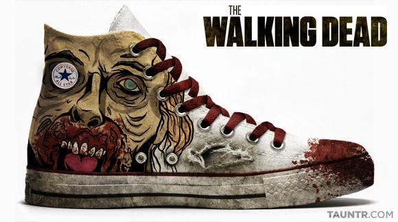 Walking Dead Converse All Star Chucks Edition