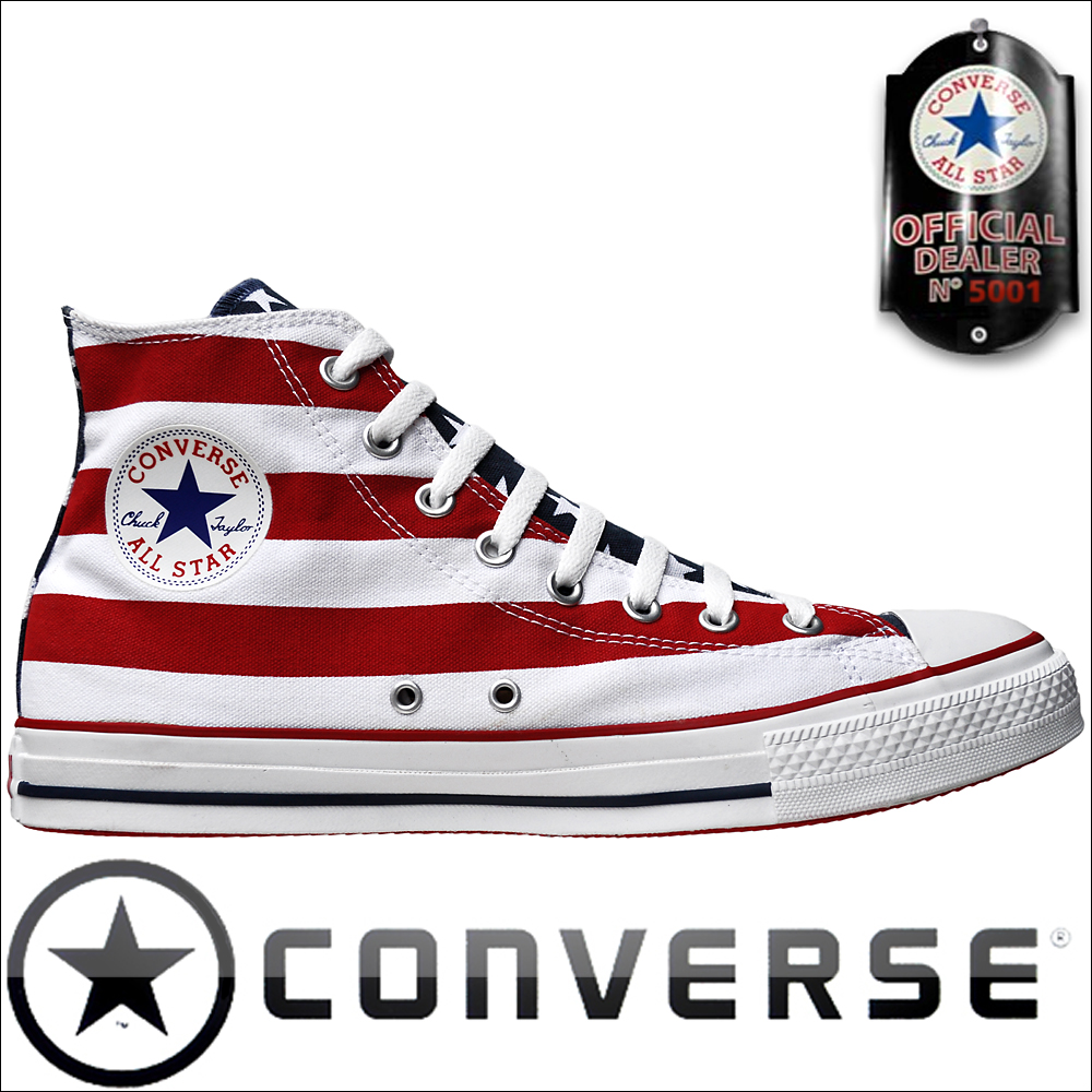 Converse Chuck Taylor ® All Star Chucks Sneakers M8437 ROT