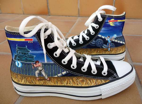 STREET FIGHTER CONVERSE CHUCKS