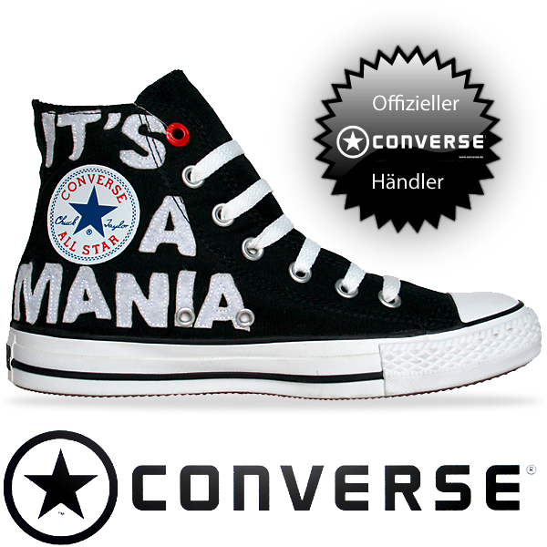 Converse Chuck Taylor All Star Chucks 108931 RED Edition Schwarz Weiß Red Black White