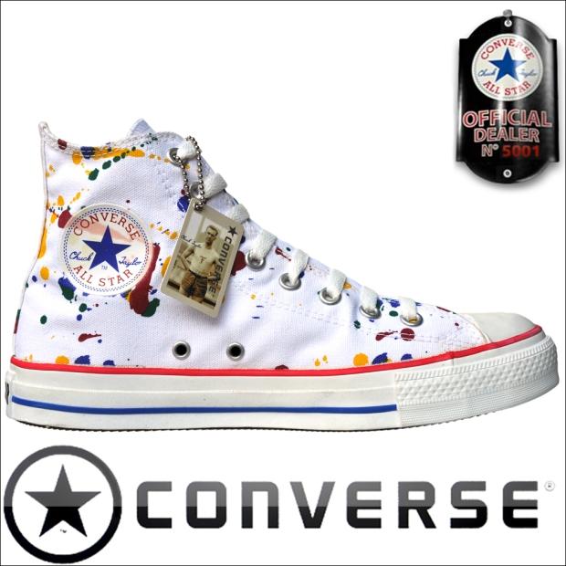 converse chucks 1P628 Paint Splash