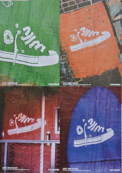 Converse Just add Color