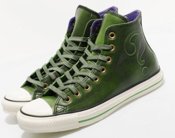Converse Chucks #Riddler DC #Comics Spring 2012 Collection
