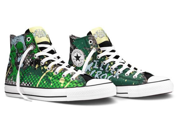 Converse Chucks #Killer Croc DC #Comics Spring 2012