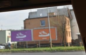 Converse Ads in Posen, Polen