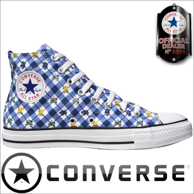 Converse All Star Schuhe Chucks 1U837 HI Blue Fruits