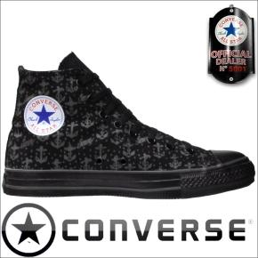 Converse Chucks 1Y830 Sailor Jerry Anchor Print Black HI
