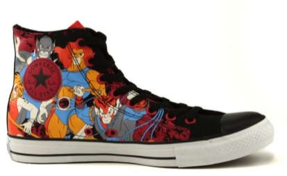 Converse All Star Hi Thundercats Athletic Shoe - Black:Thundercats