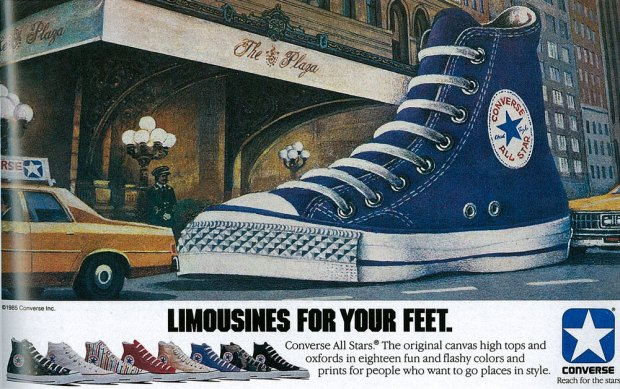 Converse Print Kampagne Spring 1985 - Limousines for your feet ...
