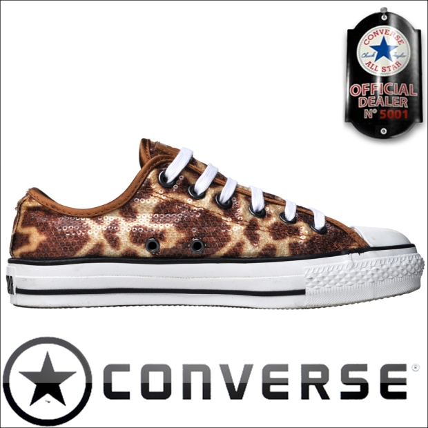 Converse Chucks 112499 Giraffe Pailletten John Varvatos Design limited Edition