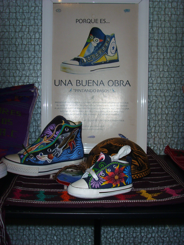 Converse Sondermodell Mexiko - handpainted - stricly limited edition. 199 $ in Shop