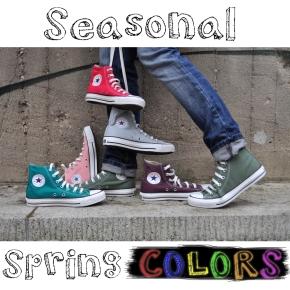 Converse Spring Colors 2013