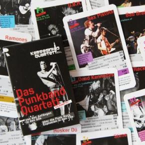 Das Punkband Quartett eine Auswahl Teil 1