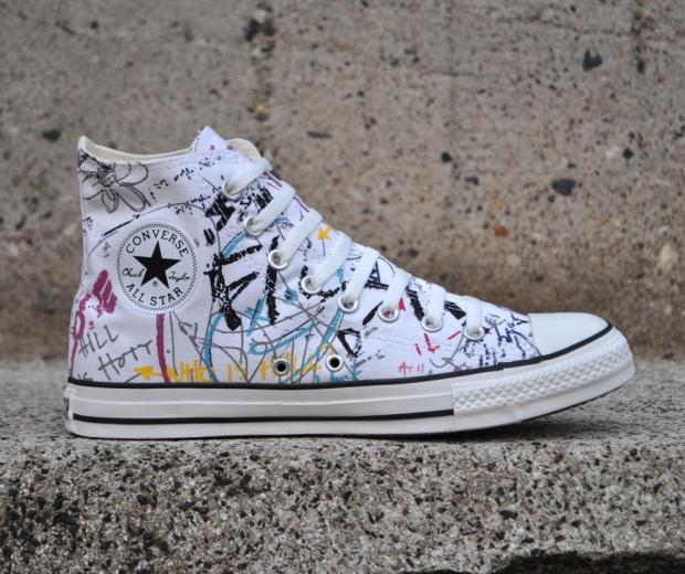 Converse All Star Hi Tops,Vintage Punk looking Sneaker