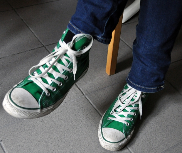 MyStyle Jens: Converse All Star Hi Tops 1J271
