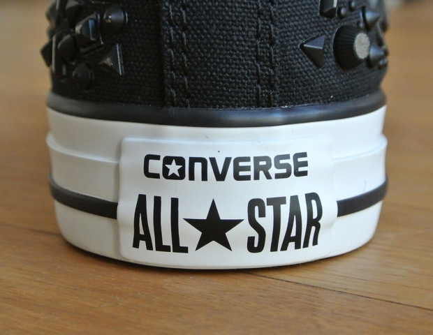 Converse All Star das neue HEEL TAG !!!