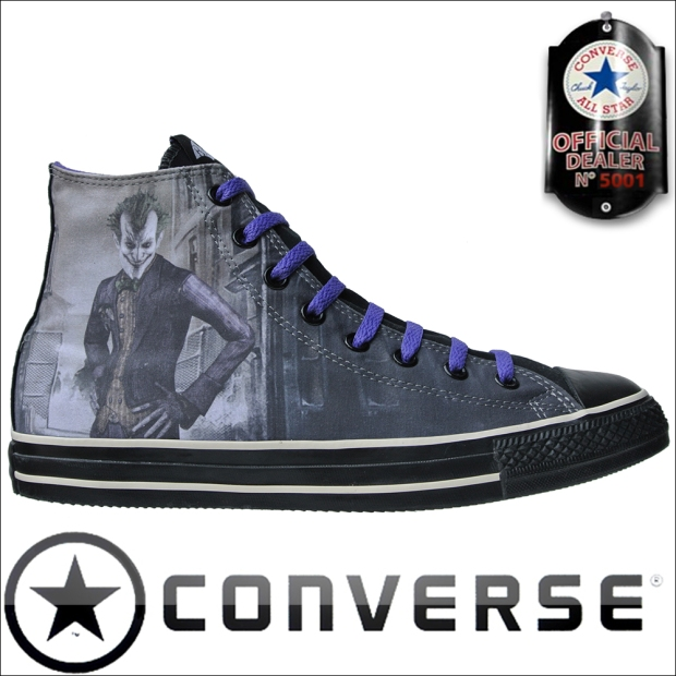 Converse Schuhe Chuck Taylor All Star Chucks 138613 Batman Joker DC Comics Gotham HI