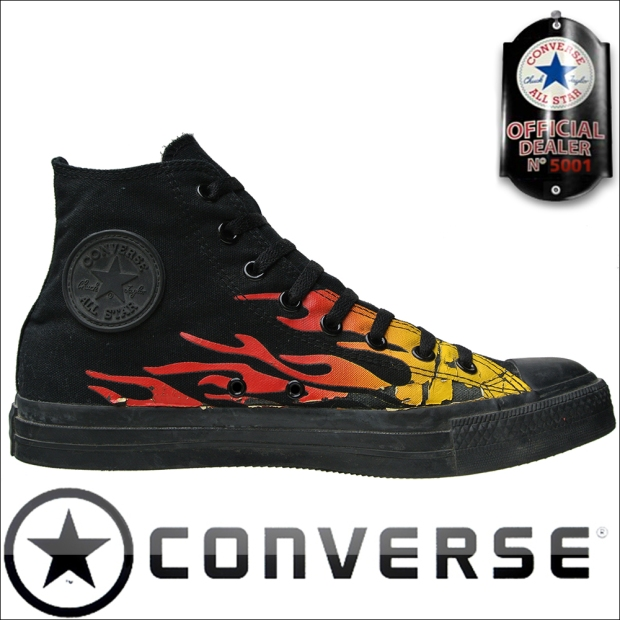 Converse Chuck Taylor All Star Converse Chucks 1Q069 Flames