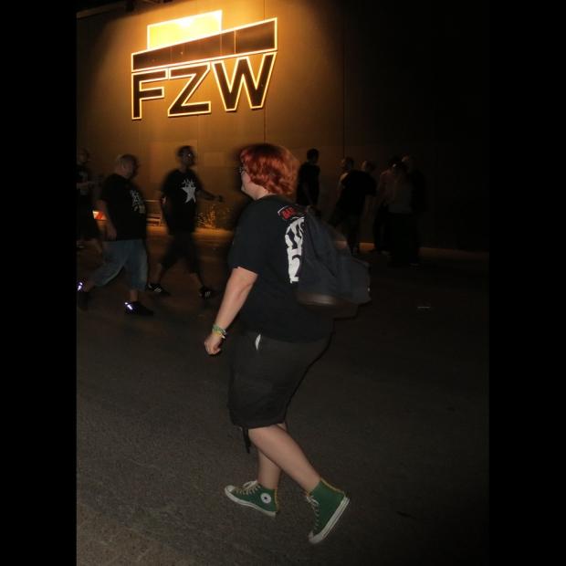 Mein Style: René trägt zum Punkrock Konzert im FZW nur Converse