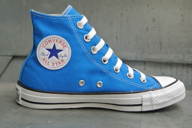 Converse Chucks All Star Chuck Taylor Sneakers 139781 Electric Blue 09/2013