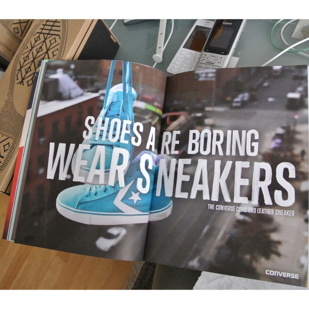 Converse WEAR SNEAKERS AD