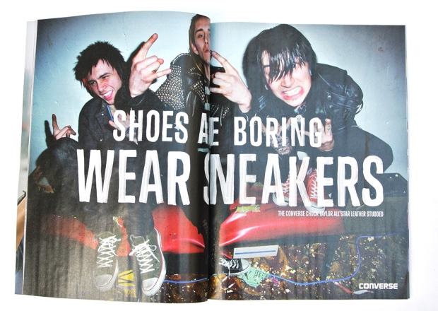 Shoes are boring - wear sneakers - Converse