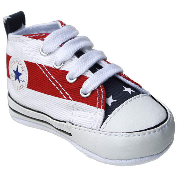 Converse Schuhe Chuck Taylor All Star Baby Chucks 86421 First Star Stars and Bars