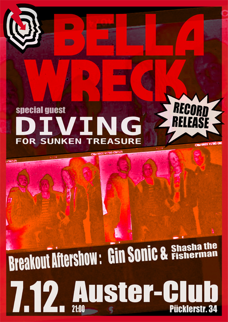 Bella Wreck - Record Release Party - Sa. 07.12.2013