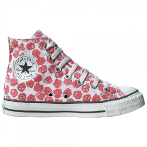 Blumenmotiv Converse All Star Schuhe Chucks