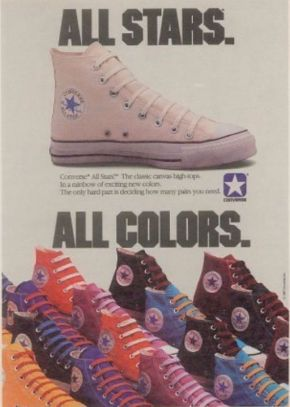 Vintage Converse Chuck Taylor All Star Chucks Poster